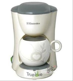 祺诺咖啡 正品伊莱克斯咖啡机 EGCM050 单杯咖啡机 滴漏咖啡壶