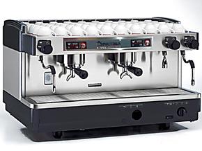 意大利原装飞马FAEMA E98 S2 双头手控型商用半自动咖啡机意式
