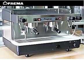促销意大利飞马FAEMA E98 S2 意式双头手控半自动咖啡机 /蒸汽