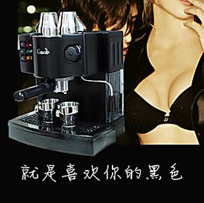 包邮进口泵压 意式半自动咖啡机咖啡壶 家用商用蒸汽压力打奶泡