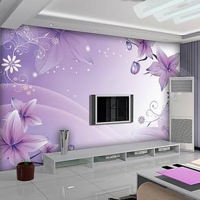 欧诺大型壁画温馨卧室客厅电视背景墙纸壁纸墙画墙布自粘特价包邮