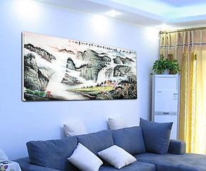 家居装饰画/大幅/国画/挂画/酒店/客厅/墙画/壁画/宾馆/无框画