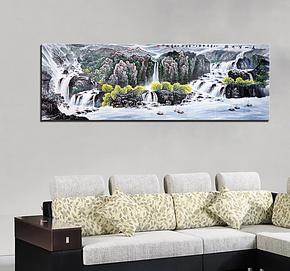 厂家正品客厅装饰画/大幅/国画/挂画/酒店现代墙画壁画无框画