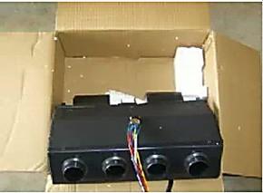 客车24V电暖器 中巴车 面包车 水暖风机12V汽车空调汽车电暖风
