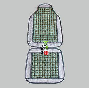 正品老板椅夏凉玉石靠垫 岫玉椅垫 玉坐垫 玉石汽车夏季靠垫LYD07