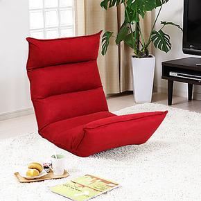 家逸懒人沙发榻榻米 可爱单人创意 日式休闲椅沙发躺椅 折叠包邮