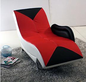 单人书房椅逍遥椅休闲椅子躺椅阳台沙发椅午睡椅包邮B06#