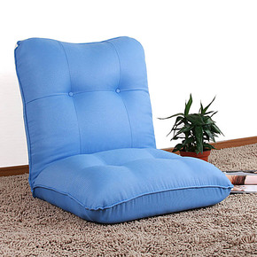 友澳懒人沙发创意单人小沙发榻榻米休闲椅电脑靠背折叠躺椅子包邮