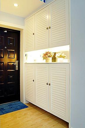 无锡惠城爱家专业定做橱柜衣柜书柜酒柜鞋柜-----爱家鞋柜