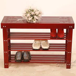 特价包邮现代简约实木门厅卧室换鞋凳 鞋柜储物收纳鞋架 白色防尘