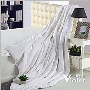 紫罗兰家纺正品  床上用品  被子被芯  经典蚕丝春秋被