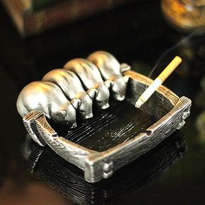 凯斯黛尔 创意工艺烟灰缸 送男友送爸爸 个性生日礼物 聚宝盆