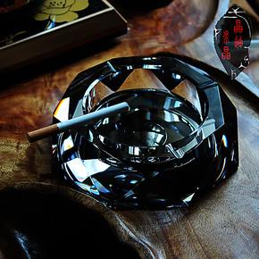 时尚个性水晶烟灰缸创意礼品大号精品欧式复古烟缸送男友礼物定制