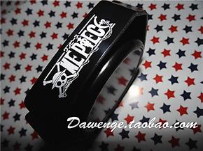 <DAWENGE>海贼王ONE PIECE 骷髅潮流创意礼品卡通 塑料密胺烟灰缸