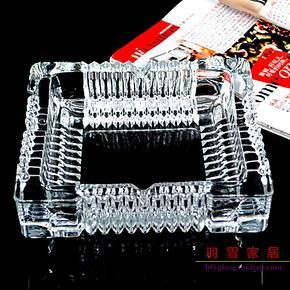 特价批发!青苹果水晶烟灰缸 时尚玻璃烟灰缸 欧式 大号 高档精品