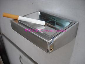 卫生间不锈钢烟灰缸 厕所不锈钢烟灰缸 挂墙式不锈钢烟灰缸