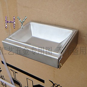 不锈钢翻盖式烟灰缸 挂墙可活动烟灰缸烟缸 酒店宾馆会所必备