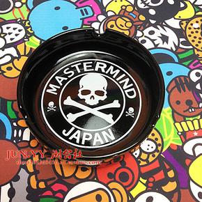 日本潮牌mastermind JAPAN MMJ 骷髅 圆圈骷髅头罗马字陶瓷烟灰缸