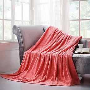 盛宇家纺 床上用品 冬毯绒毯 提花双用绒毯 毛毯 珊瑚绒 特价促销
