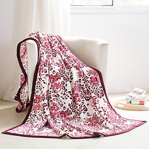 盛宇家纺 毛毯法莱绒毛毯 加厚春秋毯子保暖空调 月影悠情 特价