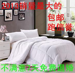 缎条蚕丝被子2.0 秋冬加厚被芯儿童学生木棉蚕丝冬被床上用品1.5