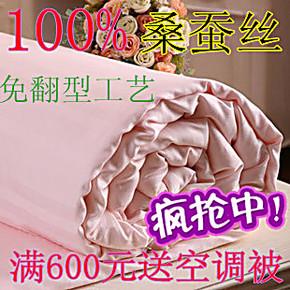 桐乡正品蚕丝被子被芯 100 桑蚕 丝 厚冬被春秋被子母被特价