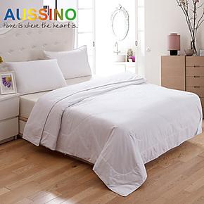 澳西奴新品蚕丝被被子被芯空调被 纯棉 新疆家纺桑蚕床上用品金冠