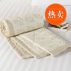 100%精梳棉面料正品实拍保证仿丝棉被芯化纤被特价夏凉被空调被芯