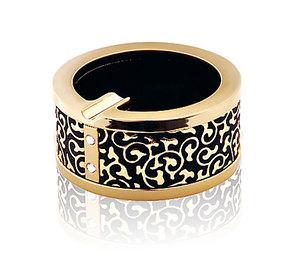 莱珍斯 锌合金欧式烟灰缸 VIP烟灰缸 时尚创意实用礼物 酒吧烟缸