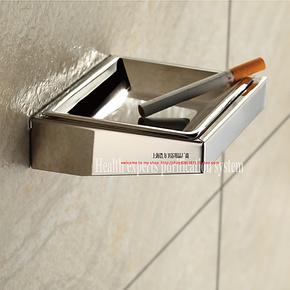 奥莱特高级时尚卫生间厕所挂壁式烟灰缸 壁挂式烟灰盒烟斗K11L