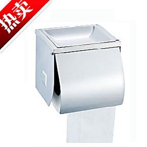 明装壁挂式卫生间小卷卫生纸架 洗手间 挂墙式纸巾盒 带烟灰缸