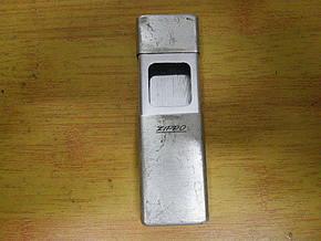 ZIPPO(芝宝)纯银外壳便携烟灰缸,进口货,国内没有