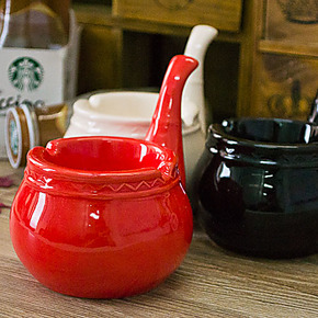 包邮 烟斗烟灰缸 创意烟灰缸 时尚灭烟缸 创意礼品 个性陶瓷烟缸