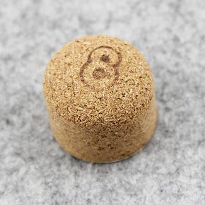8deco烟斗软木塞 烟斗专用除烟灰 3cm 软木塞 磕烟灰置于烟灰缸内