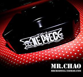 <MR.CHAO>定制 海贼王周边ONE PIECE骷髅 创意个性烟灰缸 可批发