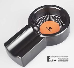 B-3016J纯金属雪 茄烟灰缸 黑色
