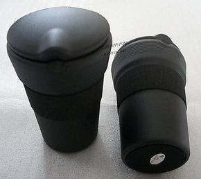 豪华款本田雅阁/思域/飞度锋范CRV 专用烟灰缸 带防震圈 途安途观