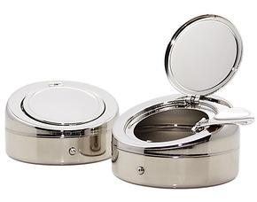 【金新】厂家直销—小号便携式烟灰缸/时尚礼品创意携带式烟灰缸