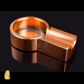 高希霸COHIBA迷你旅行携带雪 茄烟灰缸 金色 限量版