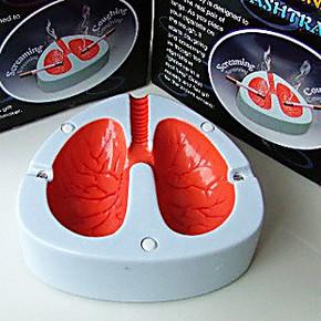 戒烟产品最有效的好帮手  会咳嗽声控烟灰缸 奇葩搞怪好玩的礼物