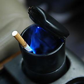 新思域 锋范 思迪 思铭 雅阁八代带LED灯烟灰缸 本田带灯烟灰缸