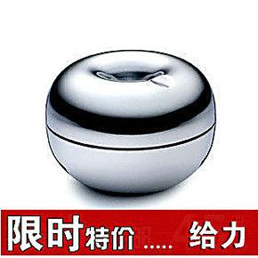 丹麦银苹果防风烟灰缸 不锈钢烟灰缸 车用烟灰缸 创意烟灰缸