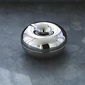 丹麦Rosendahl 银苹果烟灰缸(大)34020 商务礼品 正品现货