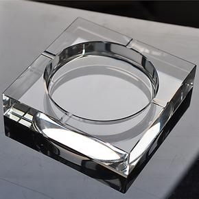 里克斯诺 水晶烟灰缸水晶 时尚创意礼品 大号精品欧式烟缸 可定做