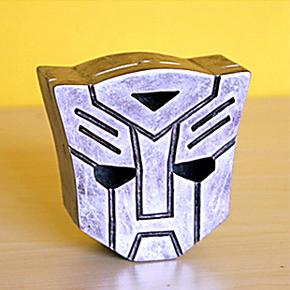 包邮 创意变形金刚烟灰缸 汽车人烟灰缸 送男友礼物