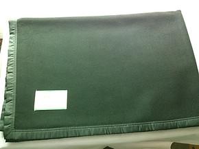 正品09毛毯新款羊毛毯羊绒毯60%羊毛学校部队宿舍防静电军绿毛毯