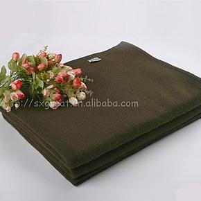 特价羊毛毯 正品羊毛军毯 懒人毛毯 野营毯子 加厚军毛毯 床上
