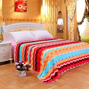 新光毛毯 拉舍尔双层毛毯云毯 学生毯 特价促销 绒毯子休闲毯盖毯