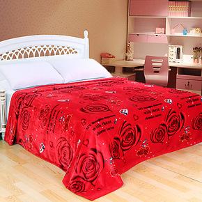 新光 拉舍尔毛毯 单层双人 夏凉毯 超柔超薄毯  床单毯 特价包邮