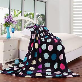 馨之恋家纺超柔法莱绒毛毯印花毯子单人双人特价包邮